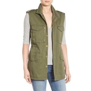 Thread & Supply Army Green Utility Vest